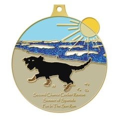 Summer of Spaniels Medal concept 2